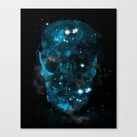 death star Canvas Prints featuring death star by frederic levy-hadida