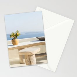 Santorini, Greece #society6 #decor #buyart Stationery Cards