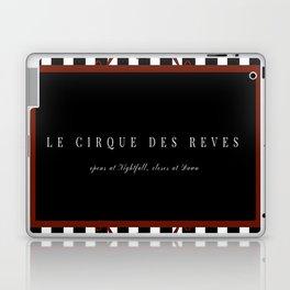Night Circus Invitation Laptop & iPad Skin