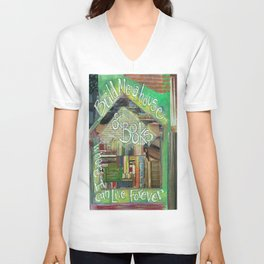 House of Books Unisex V-Neck