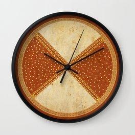 Navajo Inspiration: The motion of the Earth Wall Clock