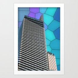 Gran Via Alien Wiew Art Print