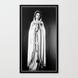 Maria Rosa Mystica Canvas Print