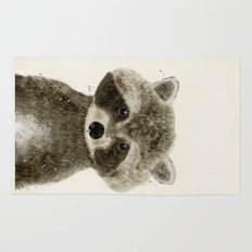 little raccoon Rug