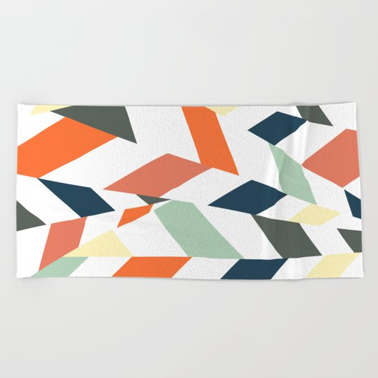Crossroad Beach Towel