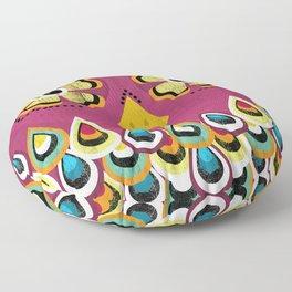 Exotic bird Floor Pillow