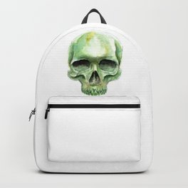 Green Skull Backpack