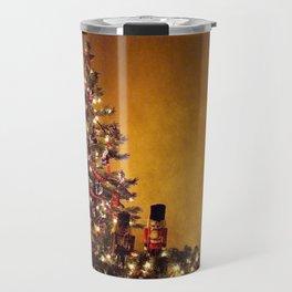Olde Time Yule Tree Travel Mug