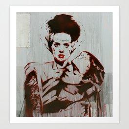 Monster Love by MrMAHAFFEY Art Print