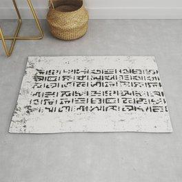 Sacral Space Glyphs I Rug