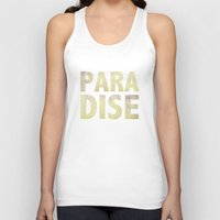 paradise Tank Tops featuring Paradise by M Studio