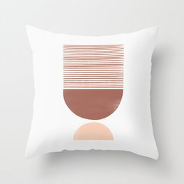 Terra Scale Shutter Mirror Throw Pillow