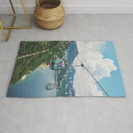Cliff side view Rug