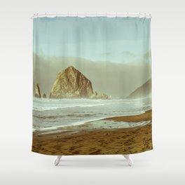 Oregon Coast, A Cannon Beach Dream Shower Curtain
