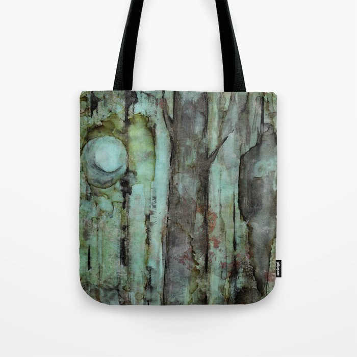 ONE MOON ONE TREE Tote Bag