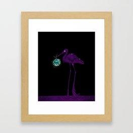 The Stork Brought It Framed Art Print