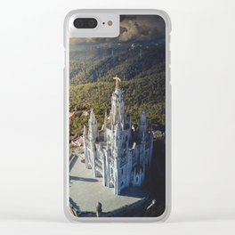 Temple of the Sacred Heart of Jesus Clear iPhone Case