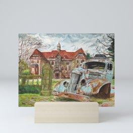 Sanatorium. Mini Art Print