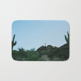 Arizona Desert Moon Bath Mat