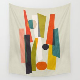 Sticks and Stones Wall Tapestry