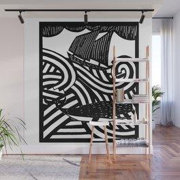 Herman - Paper Cut Illustration. 2015 Wall Mural