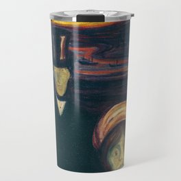 Anxiety by Edvard Munch Travel Mug