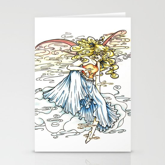 Elemental series - Air Stationery Cards