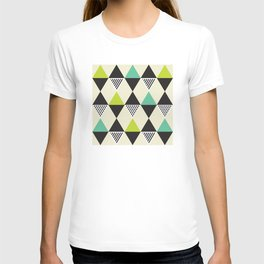 Geometric Pattern #48 (Mid-century) T-shirt