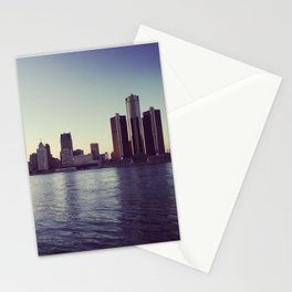serene detroit. Stationery Cards