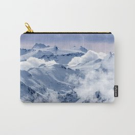 Snowy Mountains and Glaciers Carry-All Pouch