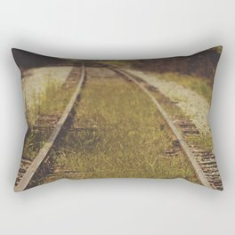 A path that leads to somewhere. Rectangular Pillow