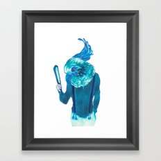 Baby Blue #1 Framed Art Print