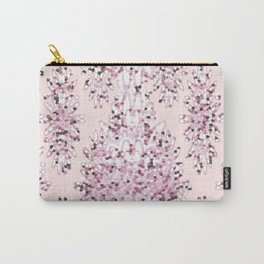 Abstract Cherry Blossoms Carry-All Pouch