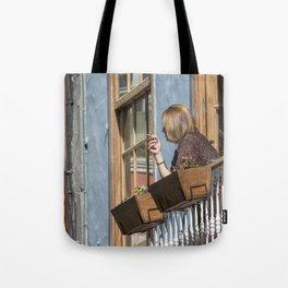 Las Palmas Balcony Tote Bag