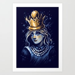 Queen Alice Art Print