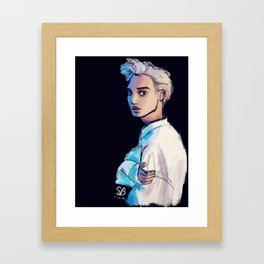 Kai Framed Art Print