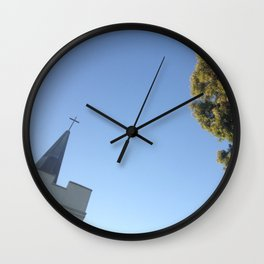 The Separation of Church & Nature Wall Clock