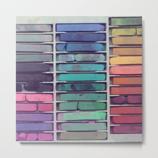 Pastels Metal Print