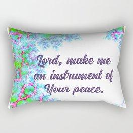 Prayer of St. Francis Rectangular Pillow