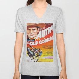 Vintage poster - The Old Corral Unisex V-Neck