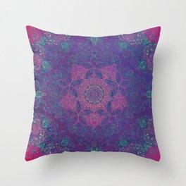 Magic mandala 30 Throw Pillow