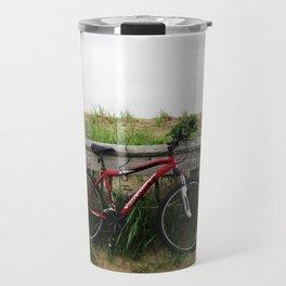 A Bike at the Beach Travel Mug