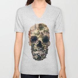 Skull Town Unisex V-Neck