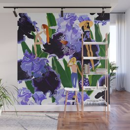 Iris Girls Wall Mural