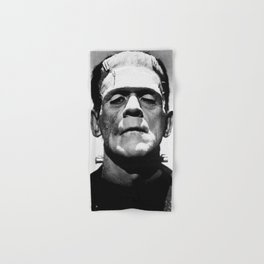 Frankenstien | Franky | Horror movies | Munsters | Gothic Aesthetics Hand & Bath Towel