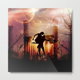 Dancing in the night Metal Print