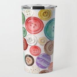 Buttons! Travel Mug