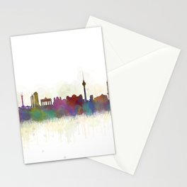 Berlin City Skyline HQ5 Stationery Cards