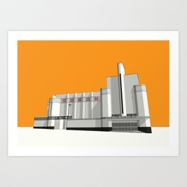 ODEON Woolwich Art Print