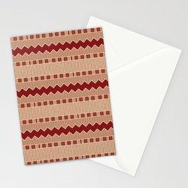 Autumn Aboriginal Savage tribe Art Stationery Cards